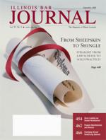 September 2009 Illinois Bar Journal Cover Image