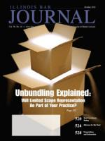 October 2010 Illinois Bar Journal Cover Image