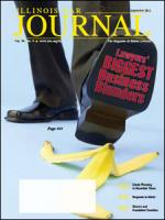 September 2011 Illinois Bar Journal Cover Image