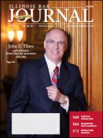 July 2012 Illinois Bar Journal Cover Image
