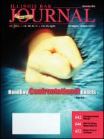 December 2012 Illinois Bar Journal Cover Image