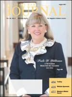 August 2013 Illinois Bar Journal Cover Image