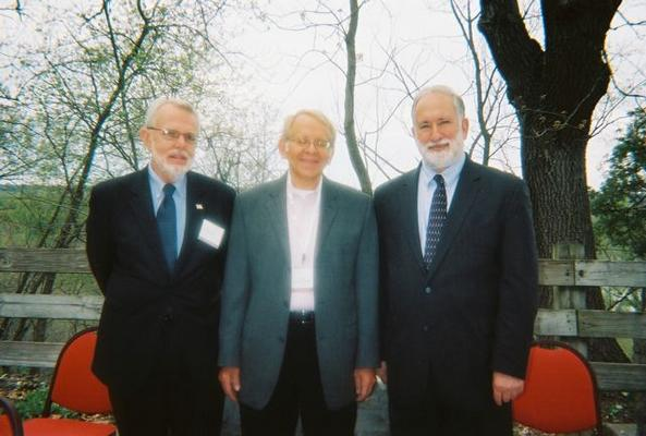 Bob Park, Judge Allen Goldberg, Jeff Parness