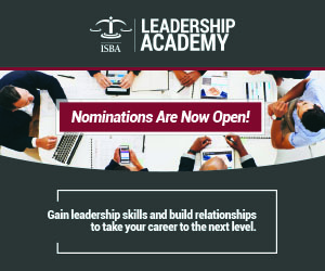 Nominations are open for ISBA Leadership Academy