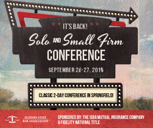 ISBA Solo and Small Firm Practice Institute: May 21, 2019