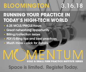 Running Your Practice in Today's High Tech World - Bloomington 3.16.18