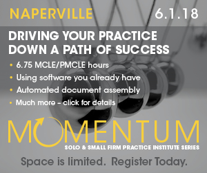 Driving your practice down a path of success; Naperville, 6-1-18