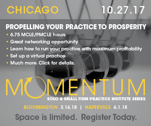 Solo & Small Firm Practice Institute - Chicago 10.27.17