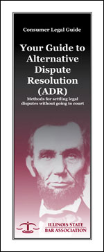 Product Image: ADR: Methods for settling legal disputes without going to court