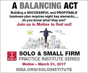 ISBA Solo & Small Firm Practice Institute Series