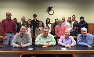 ADR Section Council March, 2016 Meeting at U of I Law School.