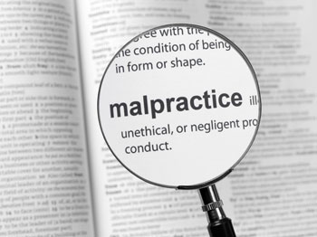 Image about malpractice