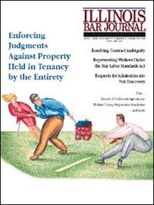 April 1999 Illinois Bar Journal Cover Image