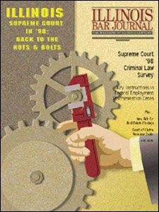 May 1999 Illinois Bar Journal Cover Image