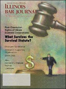 March 2001 Illinois Bar Journal Cover Image