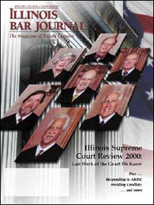 April 2001 Illinois Bar Journal Cover Image