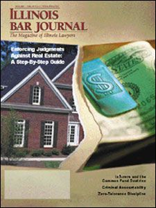 May 2001 Illinois Bar Journal Cover Image