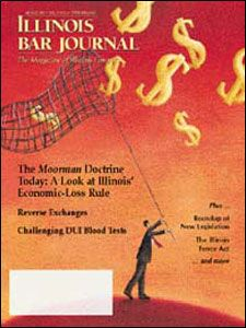 August 2001 Illinois Bar Journal Cover Image