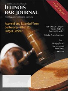 October 2001 Illinois Bar Journal Cover Image