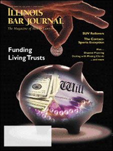 December 2001 Illinois Bar Journal Cover Image