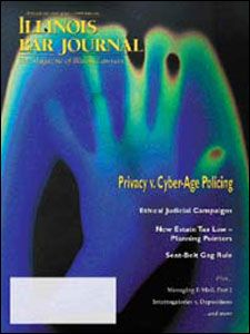 February 2002 Illinois Bar Journal Cover Image