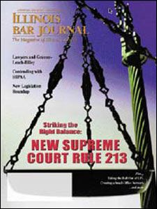 August 2002 Illinois Bar Journal Cover Image