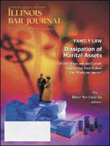 September 2003 Illinois Bar Journal Cover Image