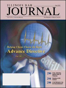 June 2005 Illinois Bar Journal Cover Image