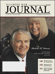 July 2005 Illinois Bar Journal Cover Image
