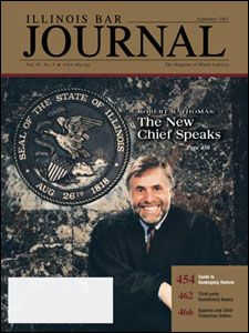 September 2005 Illinois Bar Journal Cover Image