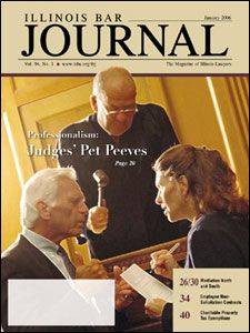 January 2006 Illinois Bar Journal Cover Image