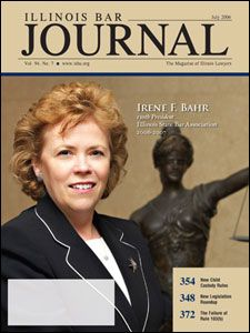 July 2006 Illinois Bar Journal Cover Image