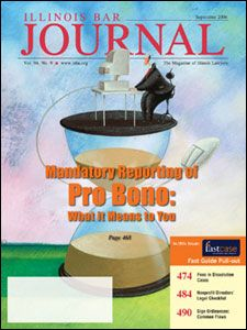 September 2006 Illinois Bar Journal Cover Image