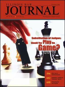 November 2006 Illinois Bar Journal Cover Image