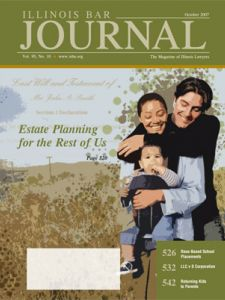 October 2007 Illinois Bar Journal Cover Image