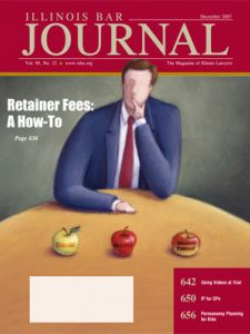 December 2007 Illinois Bar Journal Cover Image
