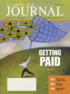 November 2008 Illinois Bar Journal Cover Image