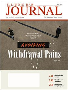 May 2010 Illinois Bar Journal Cover Image
