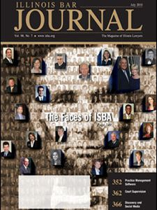 July 2010 Illinois Bar Journal Cover Image