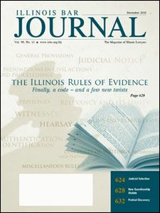 December 2010 Illinois Bar Journal Cover Image
