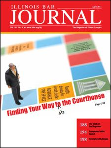 April 2011 Illinois Bar Journal Cover Image