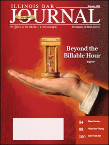 February 2012 Illinois Bar Journal Cover Image
