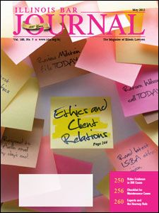 May 2012 Illinois Bar Journal Cover Image