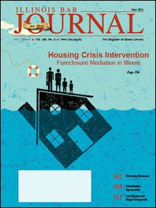 June 2012 Illinois Bar Journal Cover Image