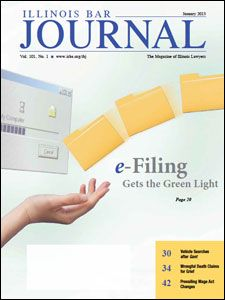 January 2013 Illinois Bar Journal Cover Image