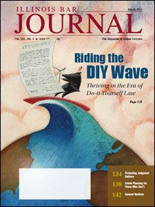 March 2013 Illinois Bar Journal Cover Image