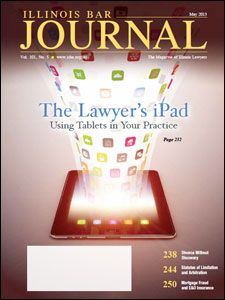 May 2013 Illinois Bar Journal Cover Image