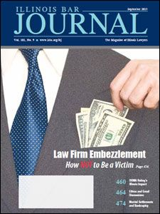 September 2013 Illinois Bar Journal Cover Image
