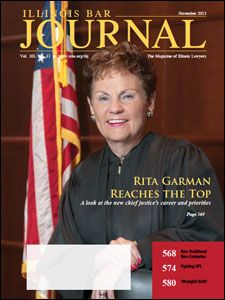 November 2013 Illinois Bar Journal Cover Image