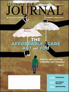 December 2013 Illinois Bar Journal Cover Image